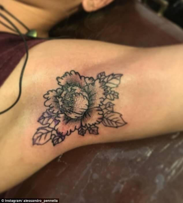 armpit tattoo trend 3