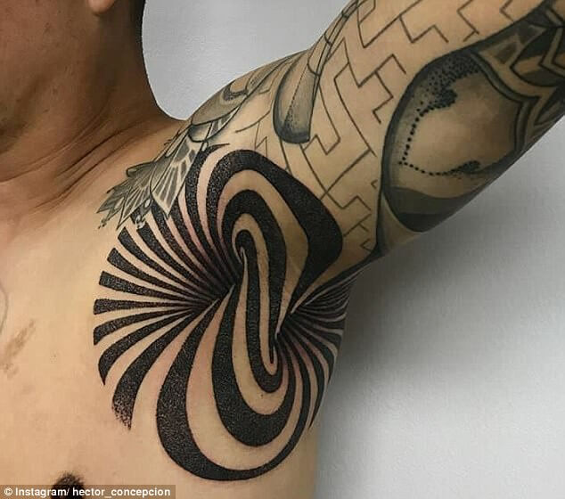 New Armpit Tattoo Trend For Tattoo Goers Hits A Sensible