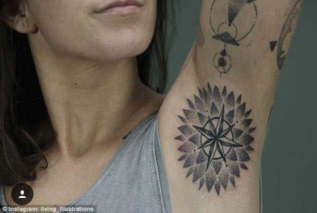 armpit tattoo trend