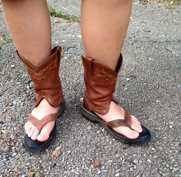 boot sandals 3
