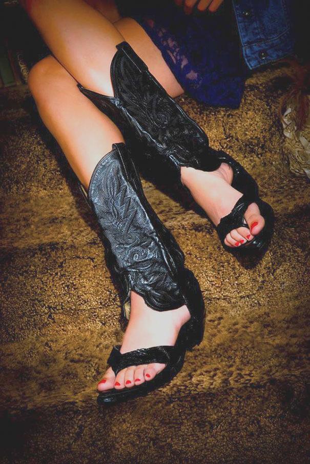 boots sandals 6