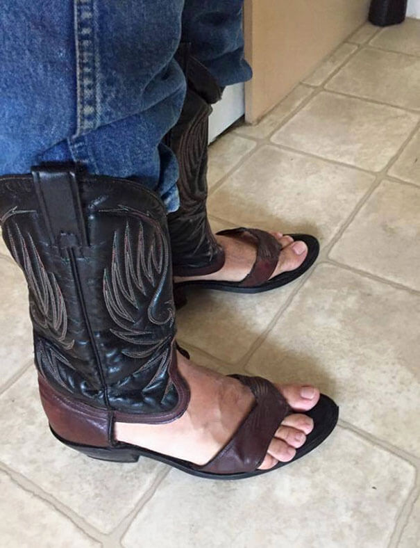 boot sandals