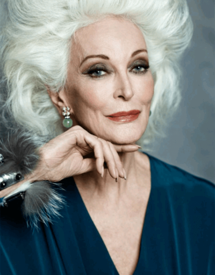 carmen dell'orefice world oldest supermodel 10
