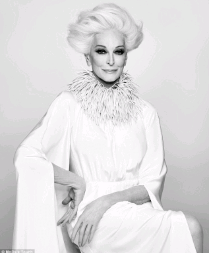 carmen dell'orefice world oldest supermodel 11