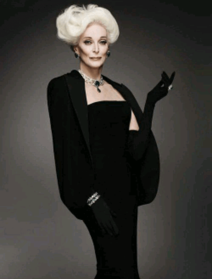 carmen dell'orefice world oldest supermodel 12