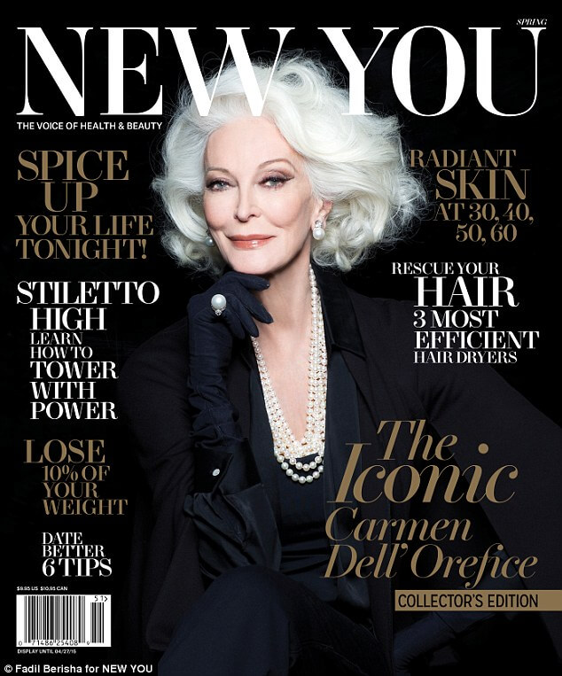 carmen dell'orefice world oldest supermodel 13