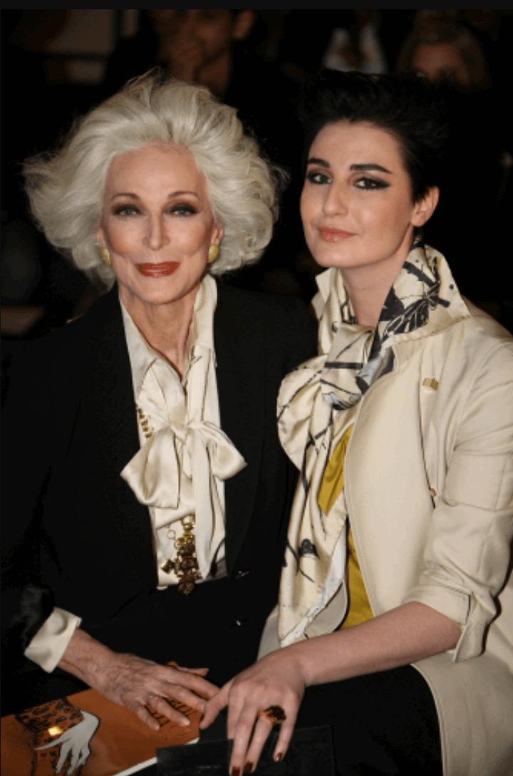carmen dell'orefice world oldest supermodel 2