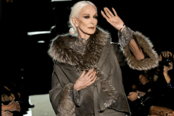 carmen dell'orefice world oldest supermodel 3