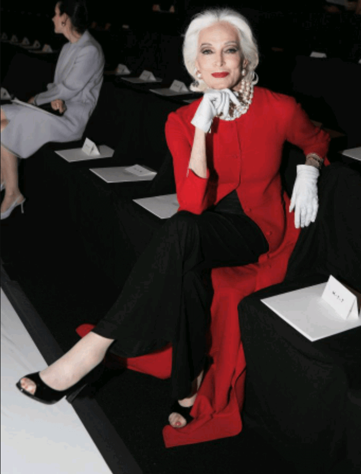 carmen dell'orefice world oldest supermodel 6