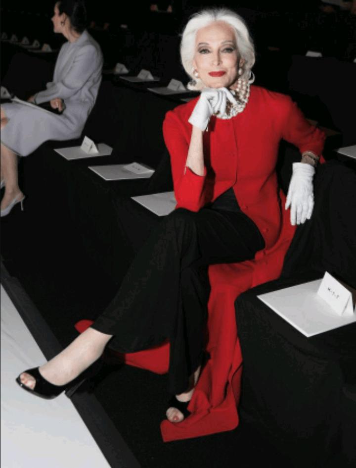 carmen dell'orefice world oldest supermodel 6