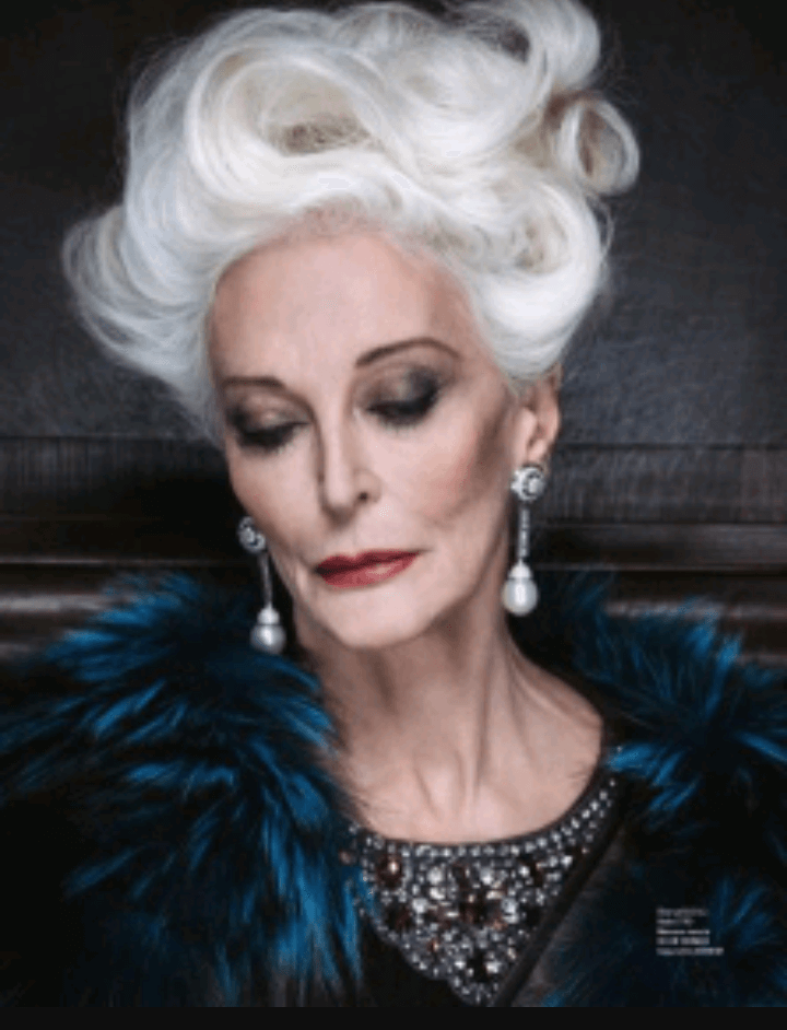 carmen dell'orefice world oldest supermodel 9