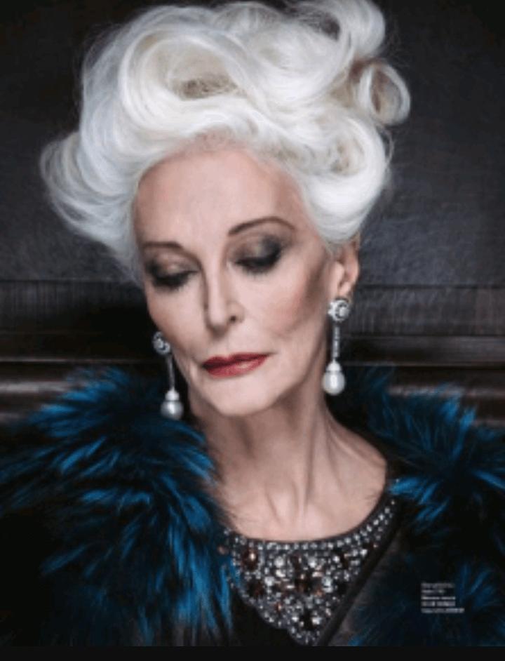 carmen dell'orefice world oldest supermodel 9