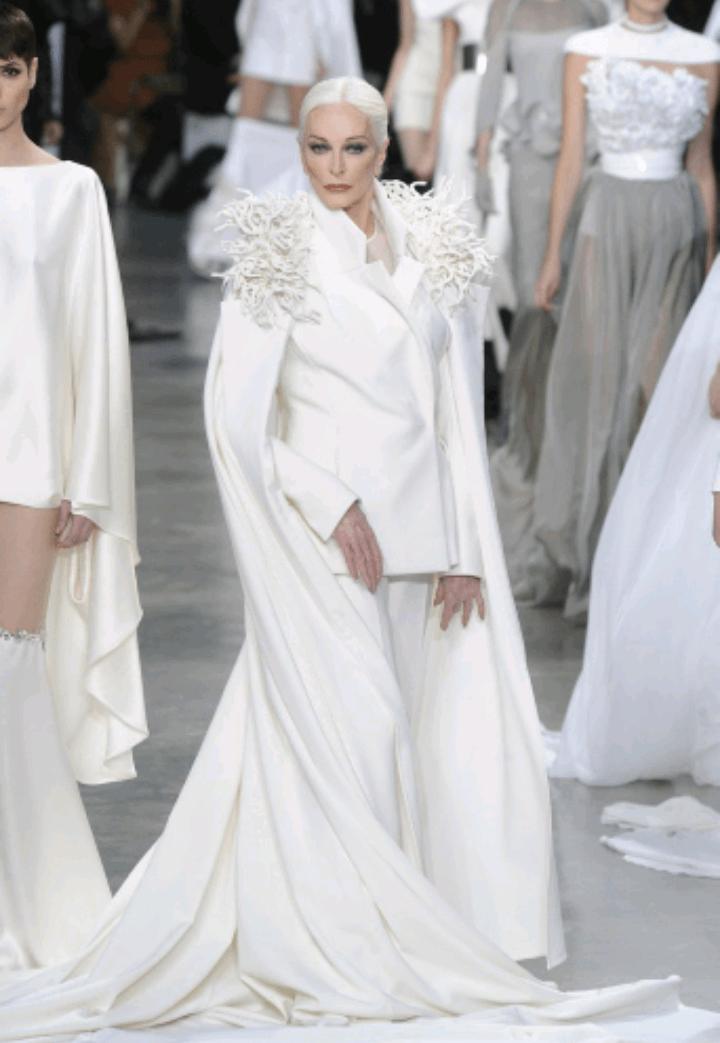 carmen dell'orefice world oldest supermodel