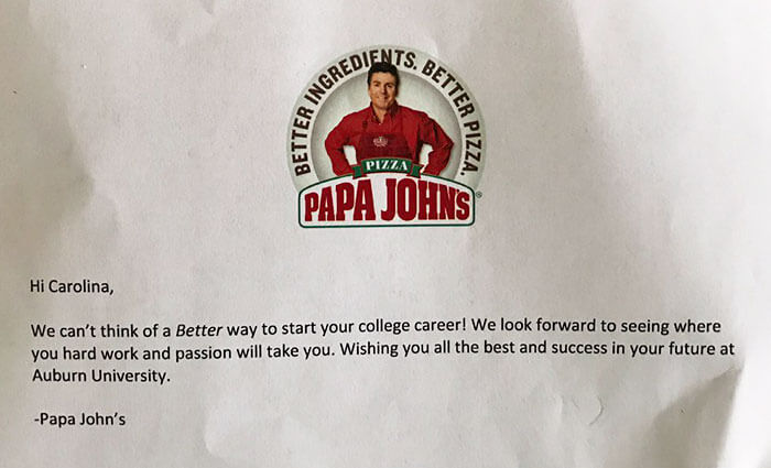 carolina williams papa john pizza essay 8