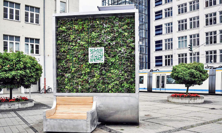 Green City Solutions Created Urban Tree Walls That Could Be The Solution To Air Pollution