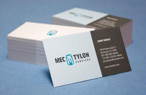 common business card feat