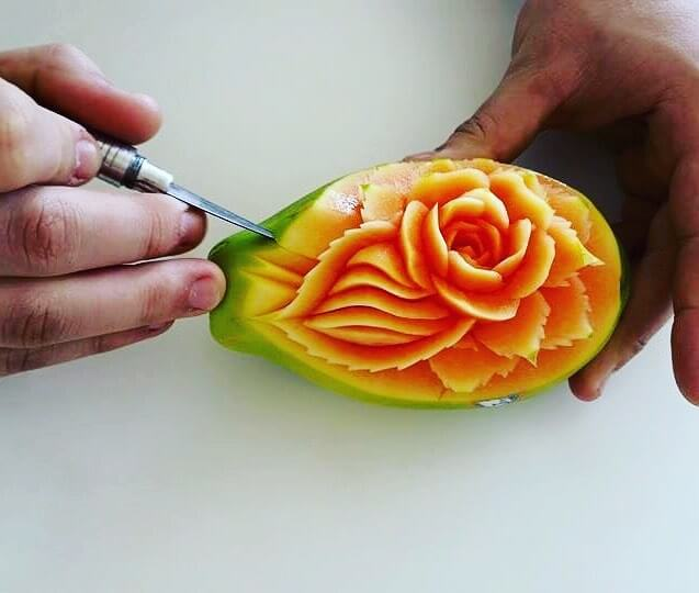 daniele barresi food carvings 10