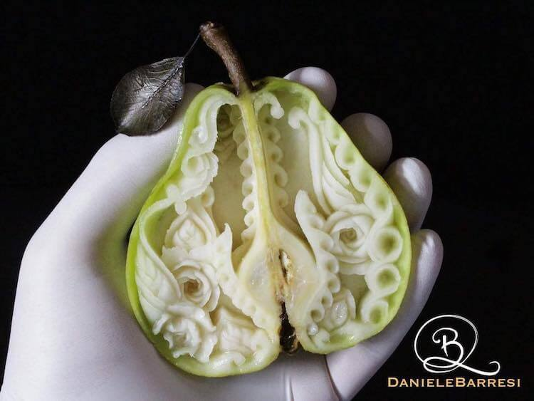 daniele barresi food carvings 12