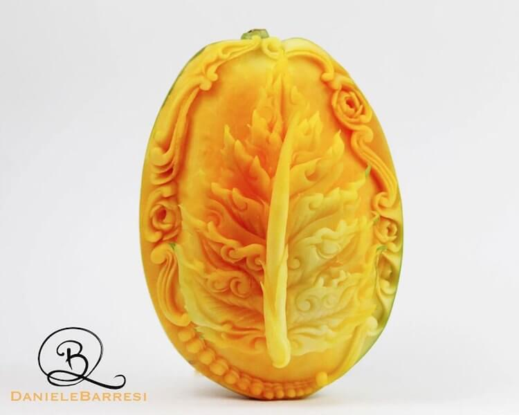 daniele barresi food carvings 3