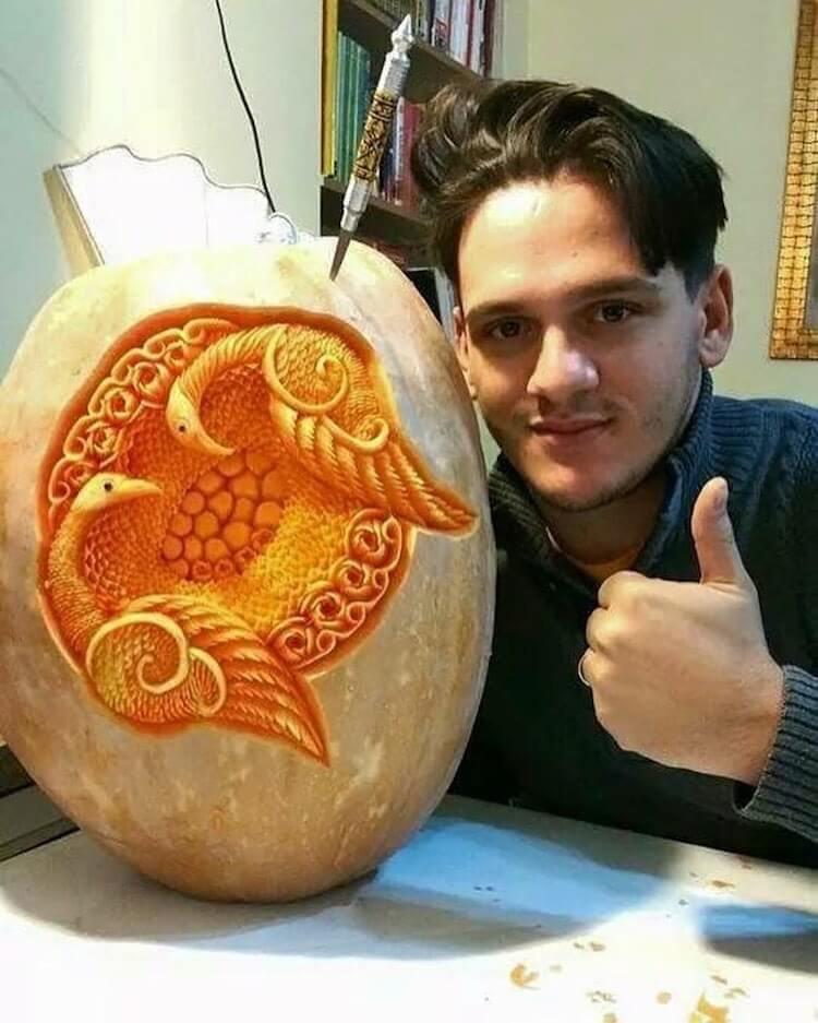 daniele barresi food carvings 8