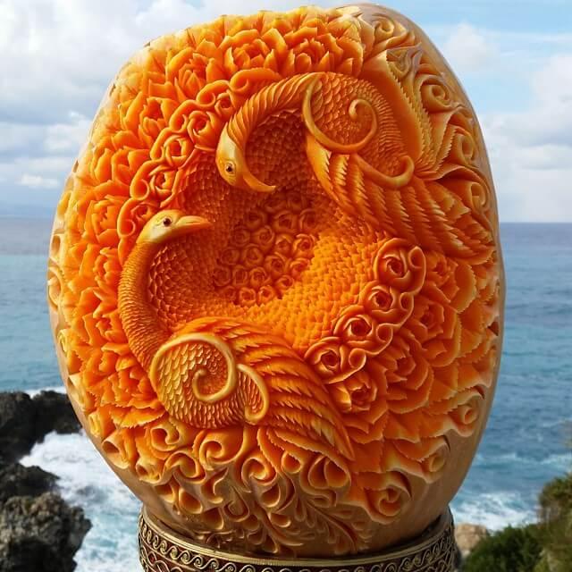 daniele barresi food carvings 9