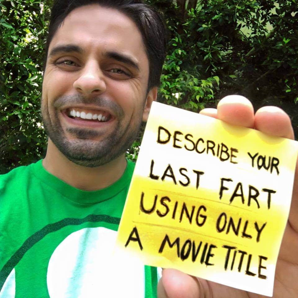 describe your last fart with a movie title