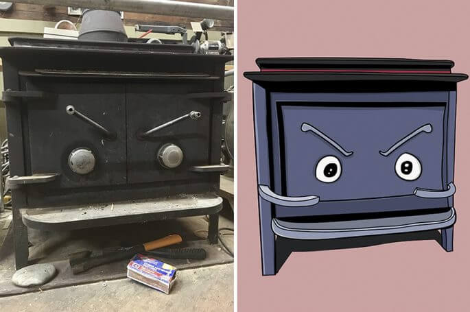 drawing faces on everyday objects 5