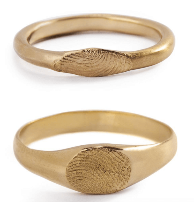fingerprint wedding band 11
