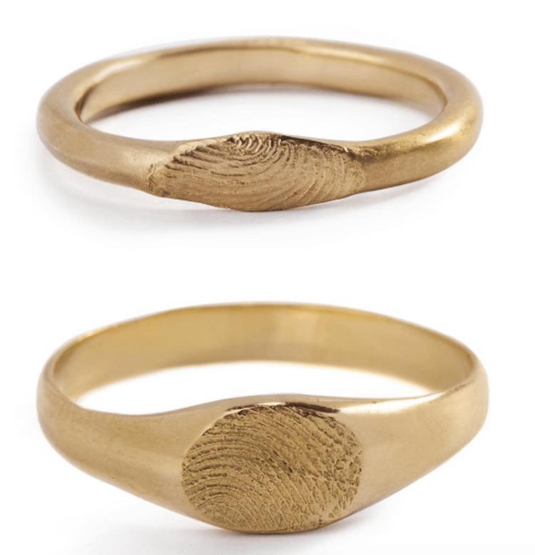 fingerprint wedding band 11