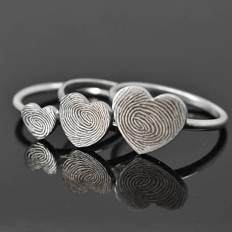 fingerprint wedding band 12