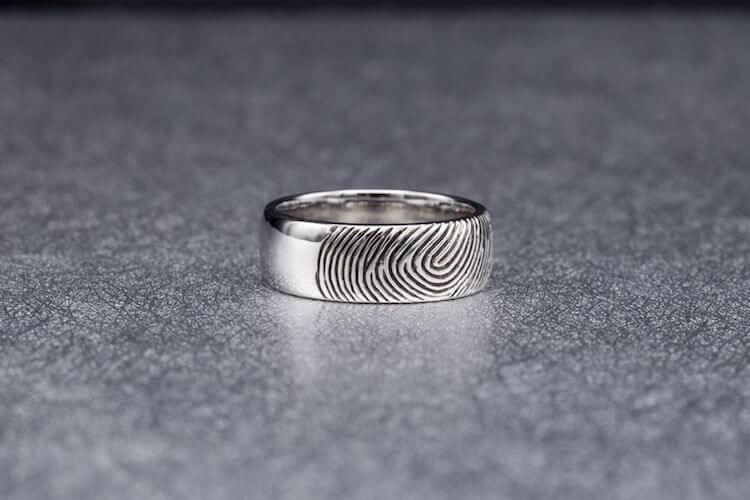 fingerprint wedding band 2