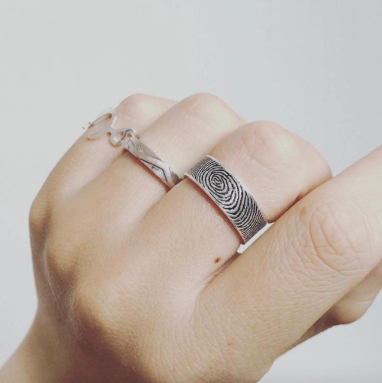 fingerprint wedding band 3