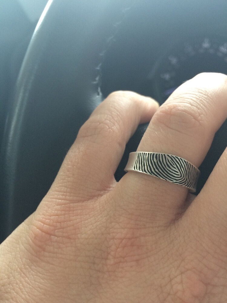 fingerprint wedding band 4