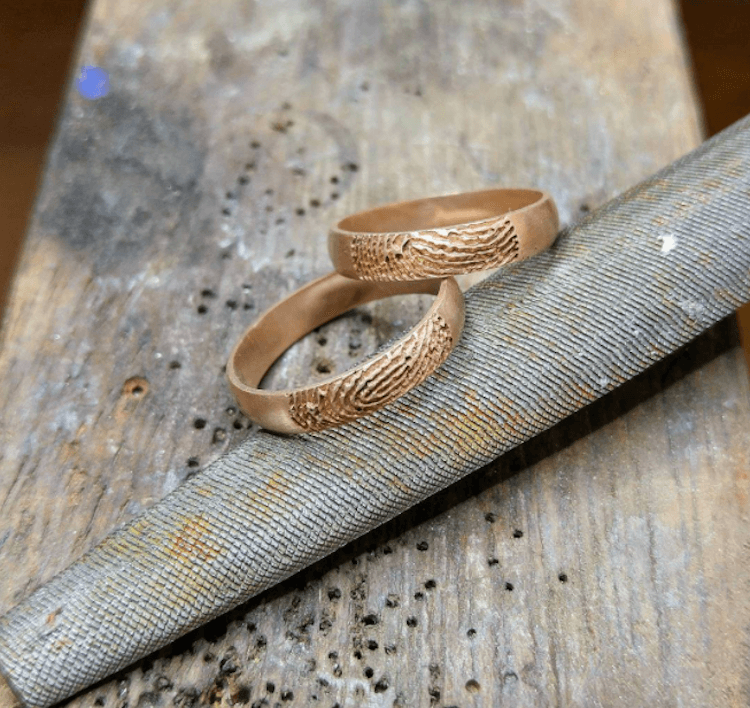 fingerprint wedding band 6