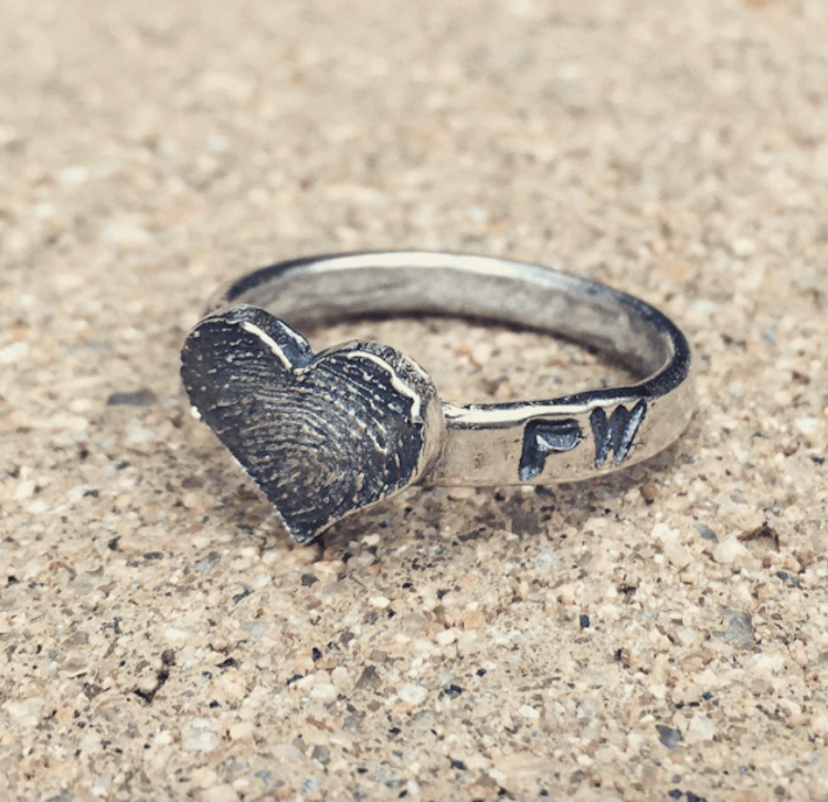 fingerprint wedding band 9