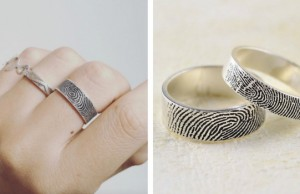 fingerprint wedding ring feat