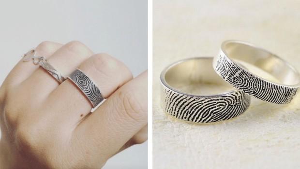 fingerprint wedding ring feat