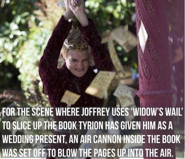 game of thrones facts 2