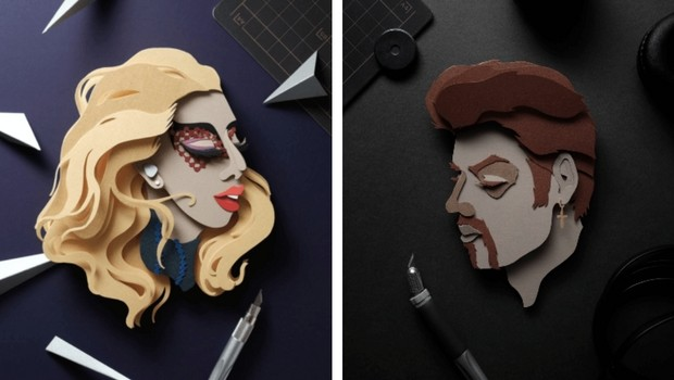 john ed de vera cutting paper art feat