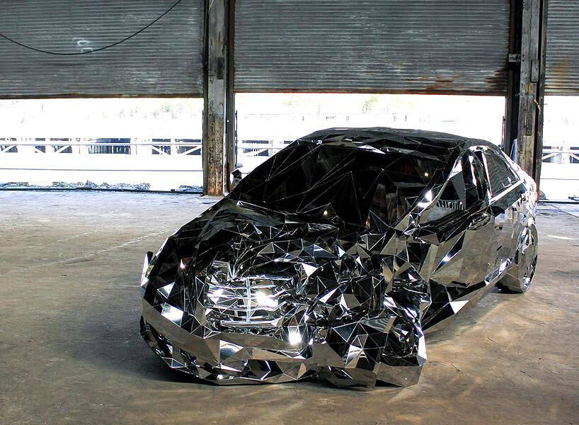 jordan griska wreck mirror mercedez 4