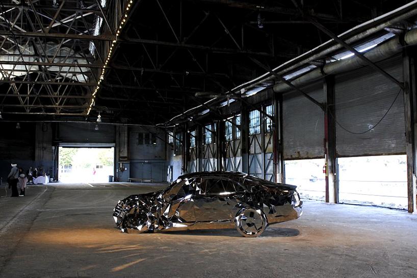 jordan griska wreck mirror mercedez 5