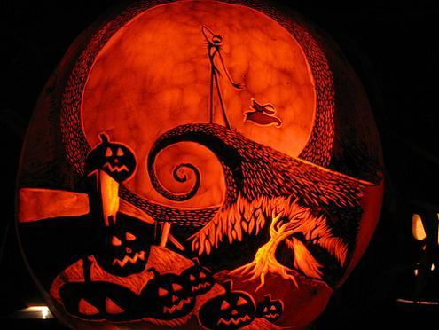 nightmare before christmas carving 12