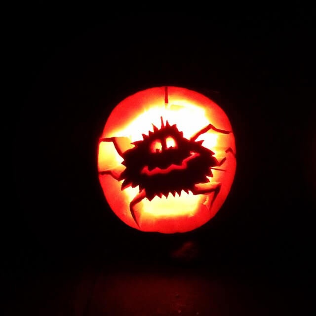 nightmare before christmas pumpkin pics 20
