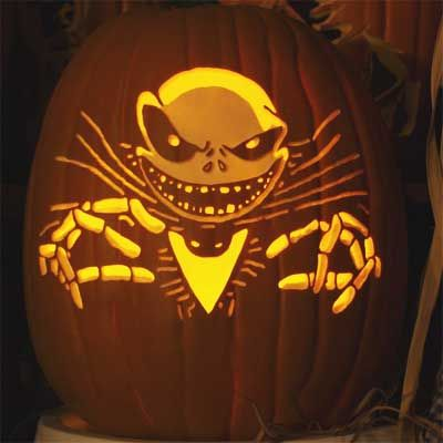 nightmare before christmas pumpkin pics 24