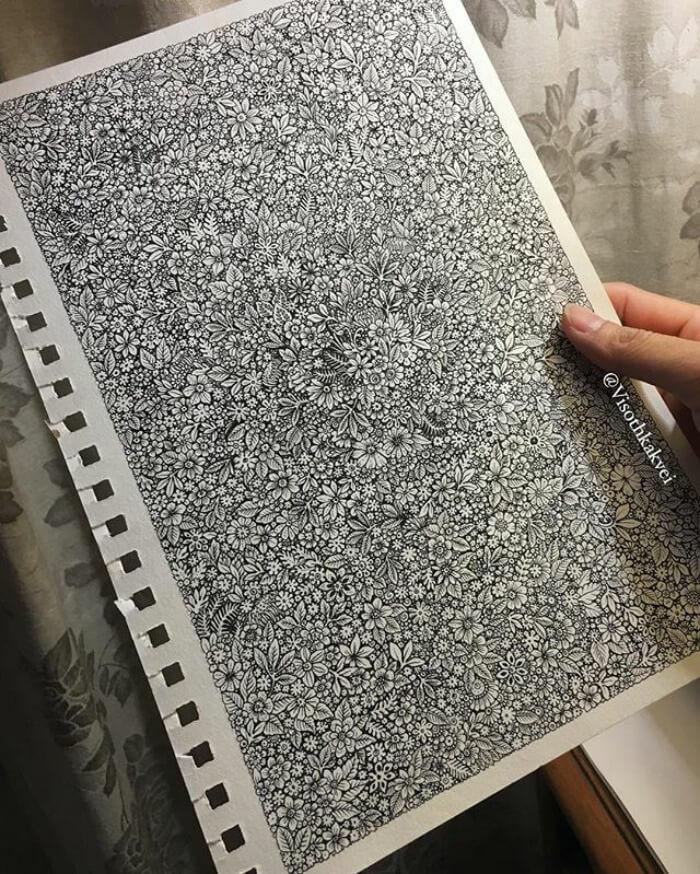 illusion drawings viso thkakvei 7