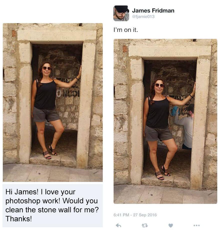 photoshop troll james fridman 2