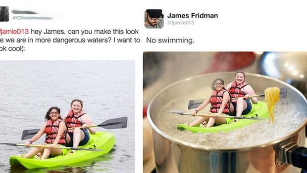 photoshop troll james fridman feat