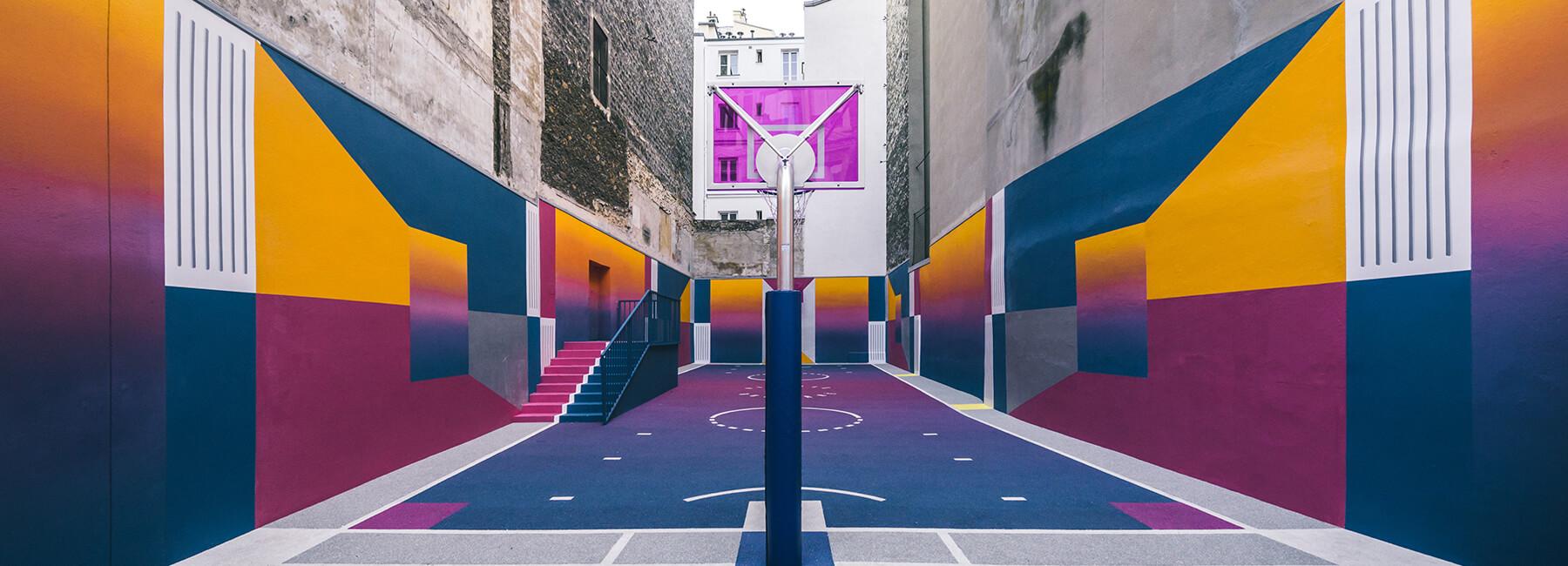 pigalle paris basketball court