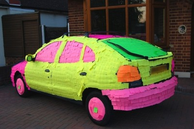 sticky note art 13