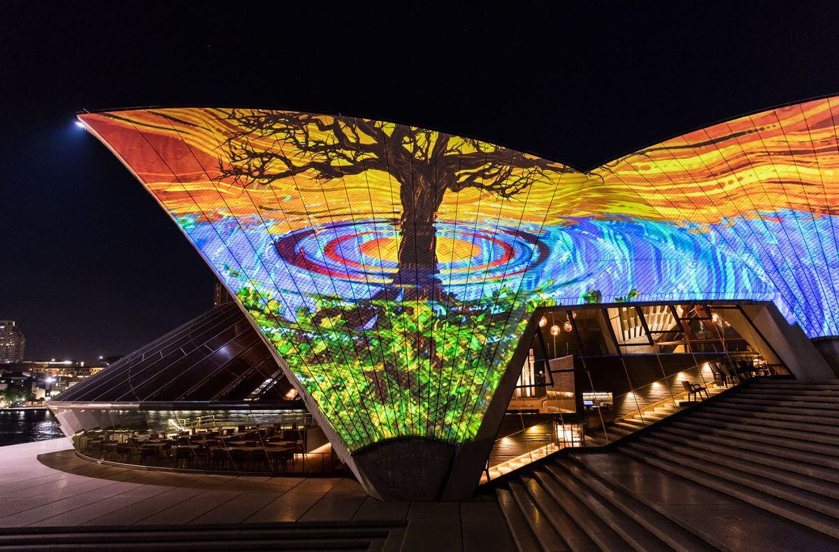 sydney opera house art projections 2